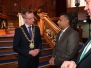 Lord Mayor of Belfast Alderman Brian Kingston